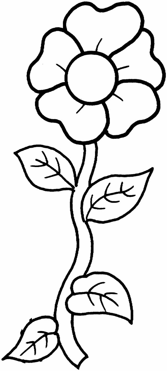 Printable photos of flowers clip art black and white 17 Best ideas about Flower Coloring Pages on Pinterest | Coloring ... clip art black and white