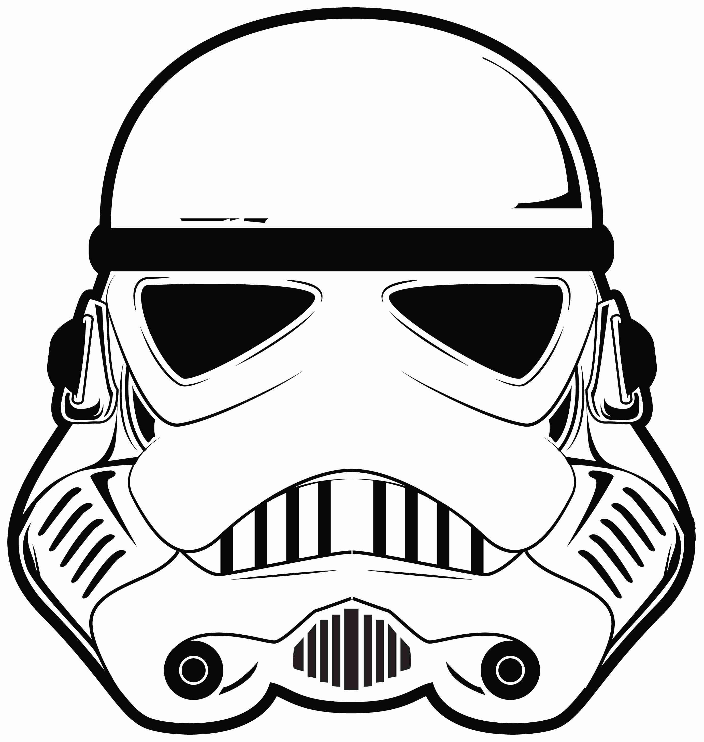 Printable star wars clipart black and white royalty free stock Starwars clipart - 53 transparent clip arts, images and ... royalty free stock
