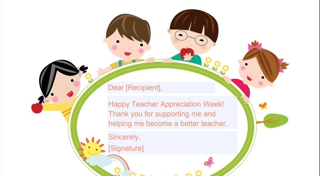 Printable thank you teacher christmas cards clipart vector transparent stock Teacher Appreciation Week (May 7-11, 2018) - TeacherVision vector transparent stock