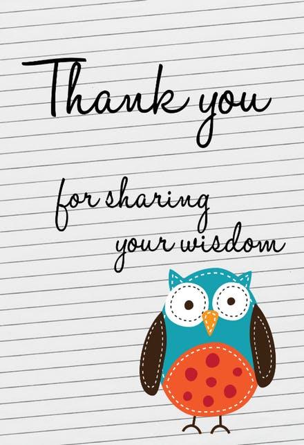 Printable thank you teacher christmas cards clipart jpg library library Thank You Cards For Teachers (Free) | Greetings Island jpg library library
