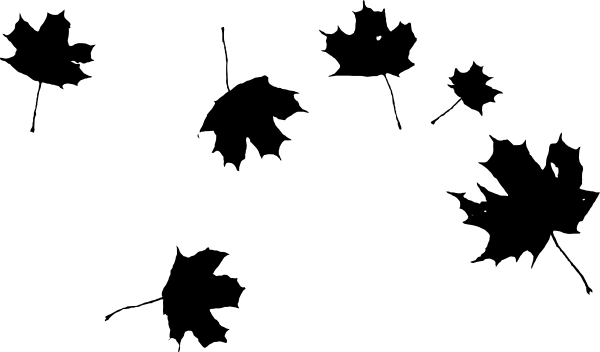 Grape Leaves Clip Art at Clker.com - vector clip art online ... png black and white stock