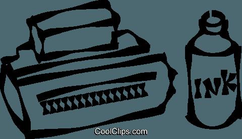 Printer cartridges clipart png download computer printer cartridge Royalty Free Vector Clip Art ... png download