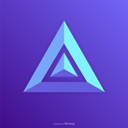 Prisma logo clipart vector transparent Prism Icon Logo Abstract Design Vector - Download Free ... vector transparent