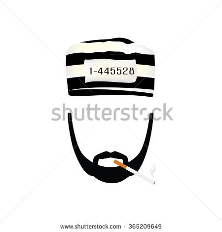 Prisoner number stock clipart free download Stock Images similar to ID 58600099 - the prisoner with cargo on a... free download
