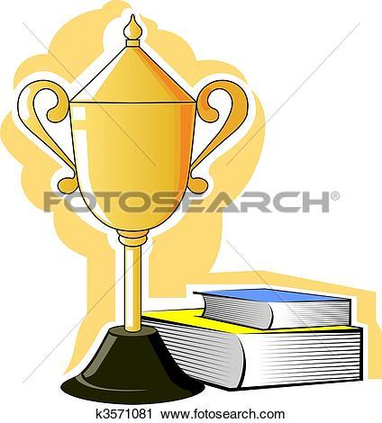 Prize clip art pictures clip transparent stock Clipart of Prize and books k3571081 - Search Clip Art ... clip transparent stock