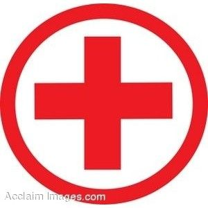 Pro med ambulance logo clipart black and white graphic free library Clip Art of a Medical Symbol-Red Cross - Polyvore | tats ... graphic free library