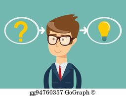 Problem and solution clipart png royalty free stock Problem Solving Clip Art - Royalty Free - GoGraph png royalty free stock