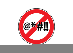 Profanity clipart clipart library library No Profanity Clipart | Free Images at Clker.com - vector ... clipart library library