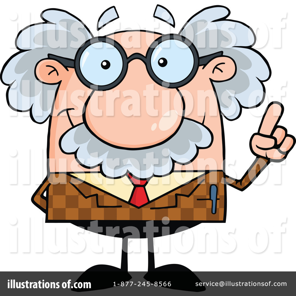 Professor clipart vector free stock Professor Clipart #1208562 - Illustration by Hit Toon vector free stock