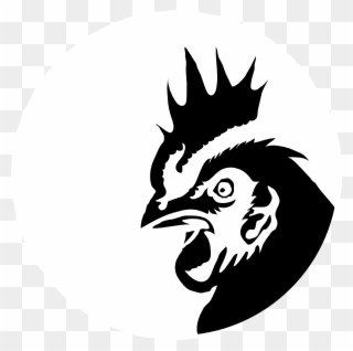 Profile of buffalo blackk and white clipart clip royalty free stock Free PNG Chicken Black And White Clip Art Download - PinClipart clip royalty free stock