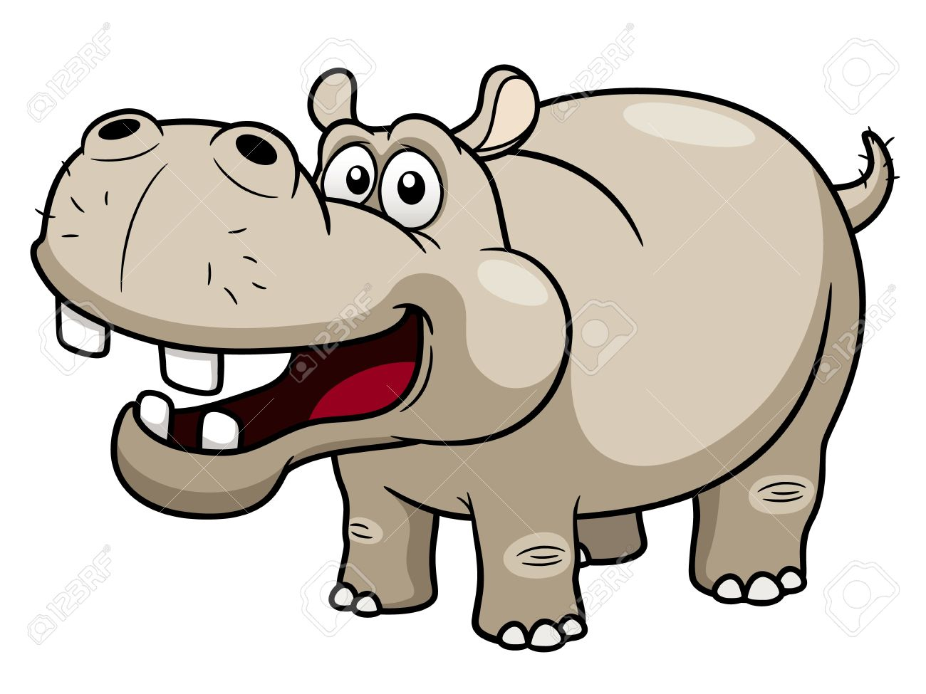 Profile of hippo clipart freeuse stock Hippopotamus Clipart | Free download best Hippopotamus ... freeuse stock