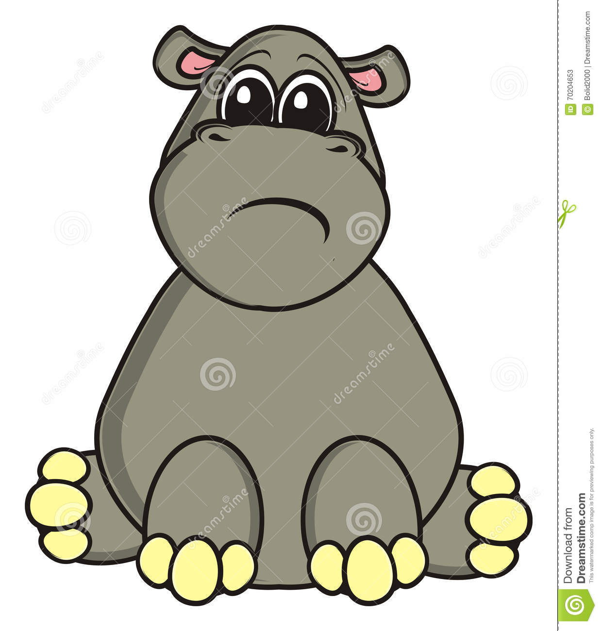 Profile of hippo clipart banner download Hippopotamus Clipart | Free download best Hippopotamus ... banner download