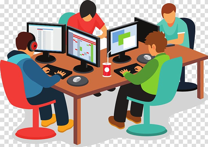 Programmer at desk clipart graphic black and white download Computer Software IBM Business Software Developer Team ... graphic black and white download