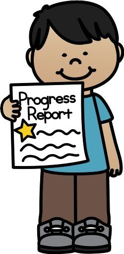 Progress reports go home clipart banner free Red Boiling Springs School banner free