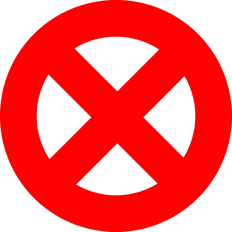 Prohibited clipart png free library Free Clipart: Prohibited Sign - Forbidden Sign - Abort ... png free library