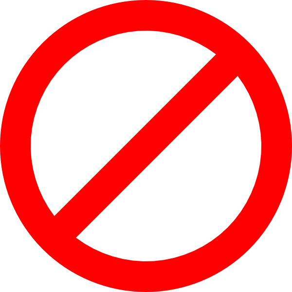 Prohibited clipart transparent download Free Prohibited Sign, Download Free Clip Art, Free Clip Art ... transparent download