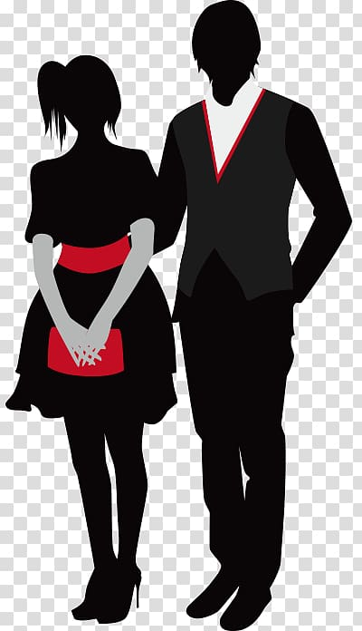 Prom couple clipart graphic royalty free download Prom , Couple Dress Western transparent background PNG ... graphic royalty free download