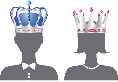 Prom king and queen clipart image royalty free download Homecoming King And Queen Png No Background & Free ... image royalty free download