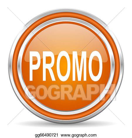 Promo icon clipart image black and white stock Stock Illustration - Promo icon. Clipart Illustrations ... image black and white stock