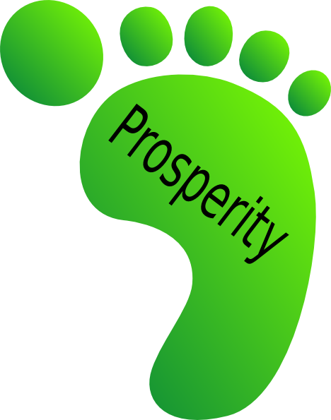 Prosperity clipart clipart download Green Feet Prosperity Clip Art at Clker.com - vector clip ... clipart download