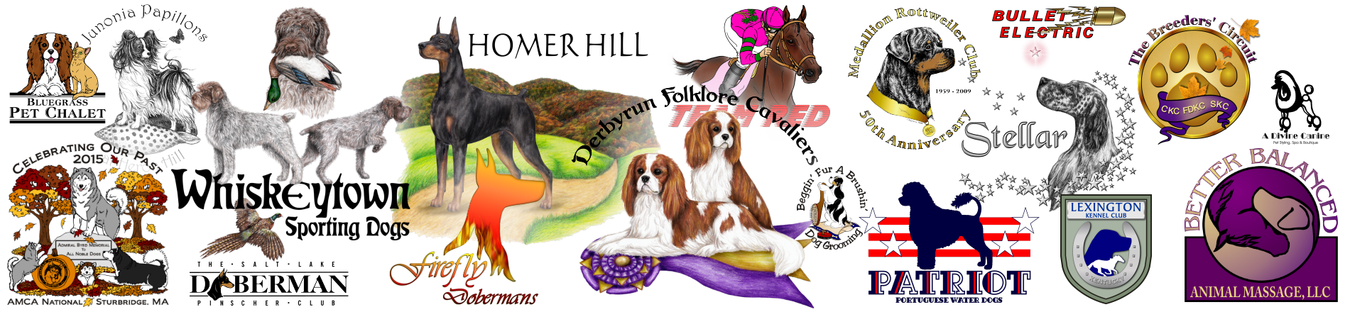 Protection dog clipart jpg download Logo Design Process - watch a dog logo being created, commissioned ... jpg download