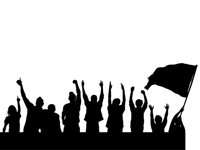 Protest clipart picture black and white download Peaceful protest clipart 4 » Clipart Portal picture black and white download