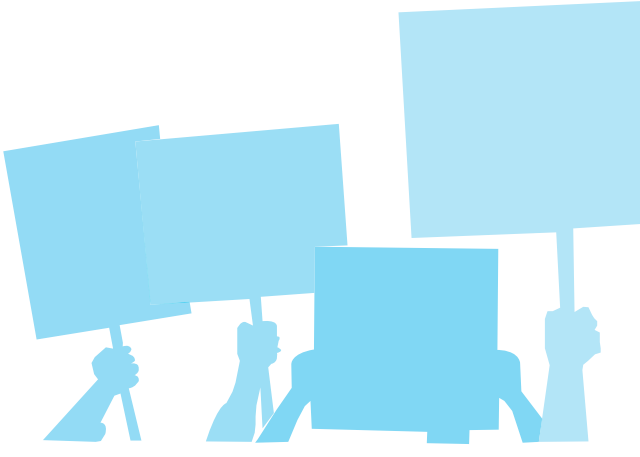 Protest sign clipart svg stock Protest Signs: Where Art and Activism Intersect - 360 Magazine svg stock