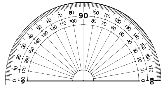 Protractor clipart black and white picture black and white stock Free Protractor Cliparts, Download Free Clip Art, Free Clip ... picture black and white stock