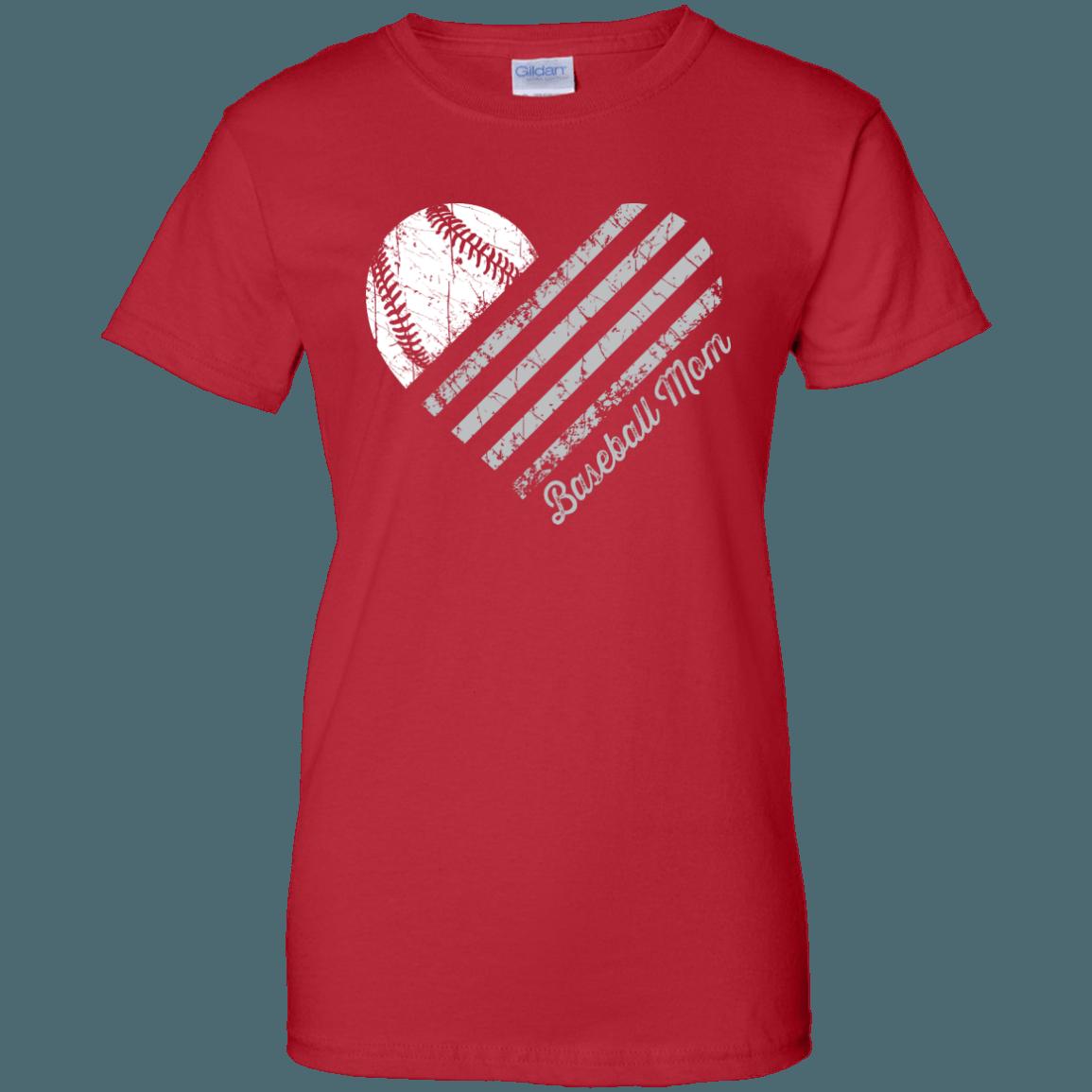 Proud baseball mom shirts clipart banner transparent library Heart Flag - Baseball - Women's Relaxed Fit | Tshirt | Pinterest banner transparent library