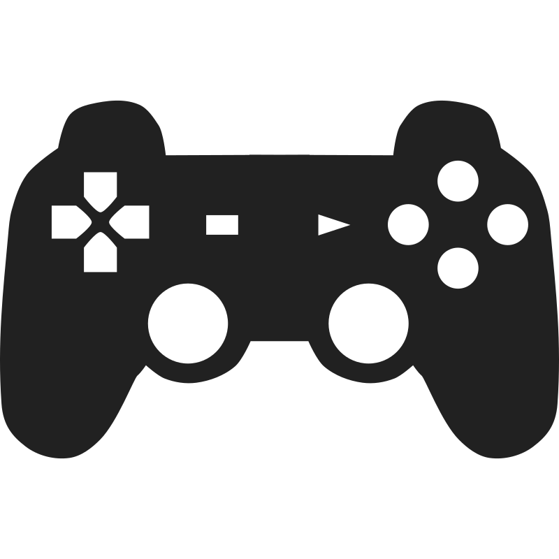 Ps4 controller black and white clipart image library library 9 PS4 Controller Vector Images - PlayStation 4 Controller ... image library library
