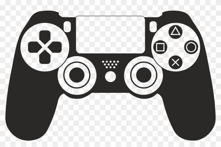 Ps4 controller clipart png library stock Ps4 Controller Vector - Play Station 4 Clipart, HD Png ... png library stock