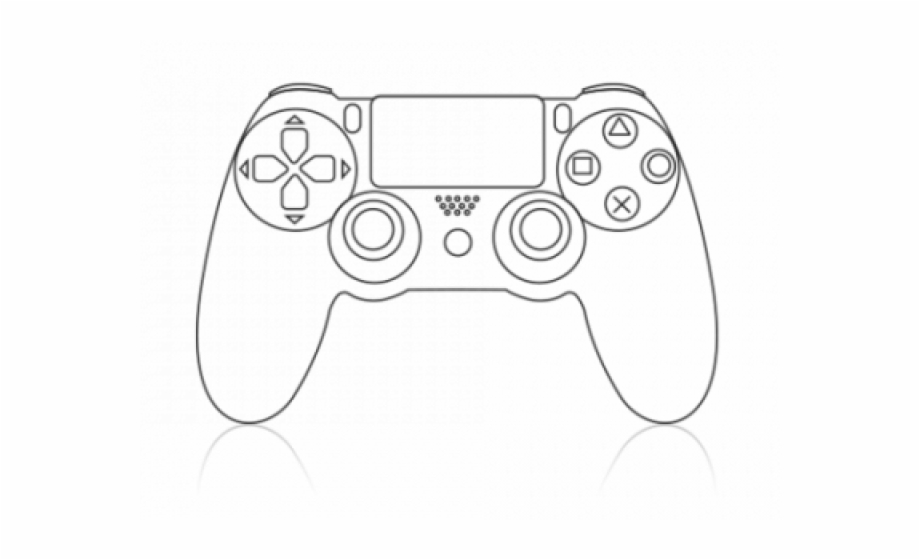 Xbox controller drawing clipart png royalty free download Clipart Wallpaper Blink Ps4 Controller Drawing Easy - Clip ... png royalty free download