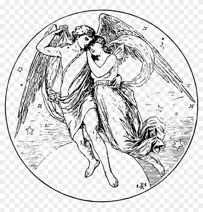 Psyche clipart jpg black and white stock Cupid Clipart Cupid And Psyche - Cupid And Psyche Drawing ... jpg black and white stock