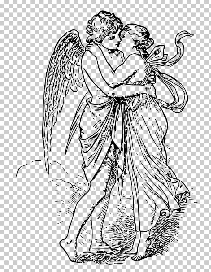 Psyche clipart clipart royalty free Cupid And Psyche Psyche Revived By Cupid\'s Kiss Eros PNG ... clipart royalty free