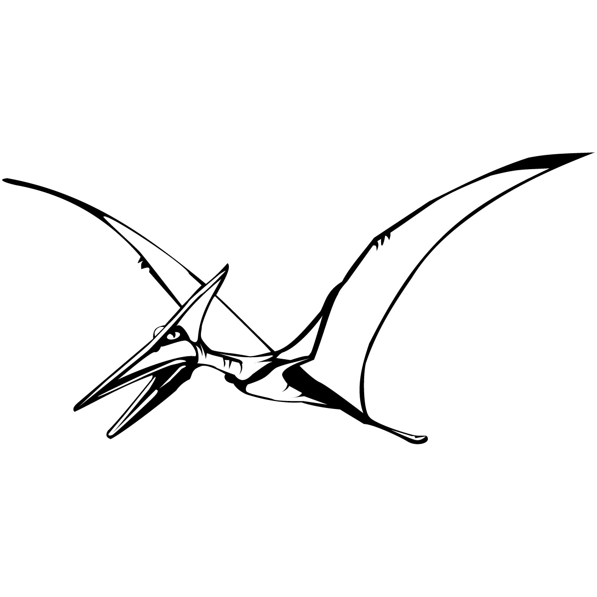 Pterodactyl clipart free jpg freeuse download Free Pictures Of Flying Dinosaurs, Download Free Clip Art ... jpg freeuse download