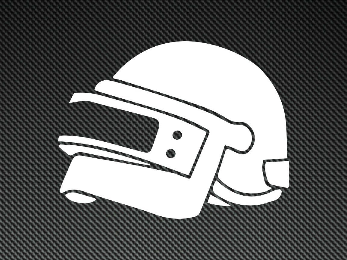Pubg helmet clipart banner freeuse library PUBG Helmet Vinyl Decal!! Perfect for your laptop, Yeti ... banner freeuse library