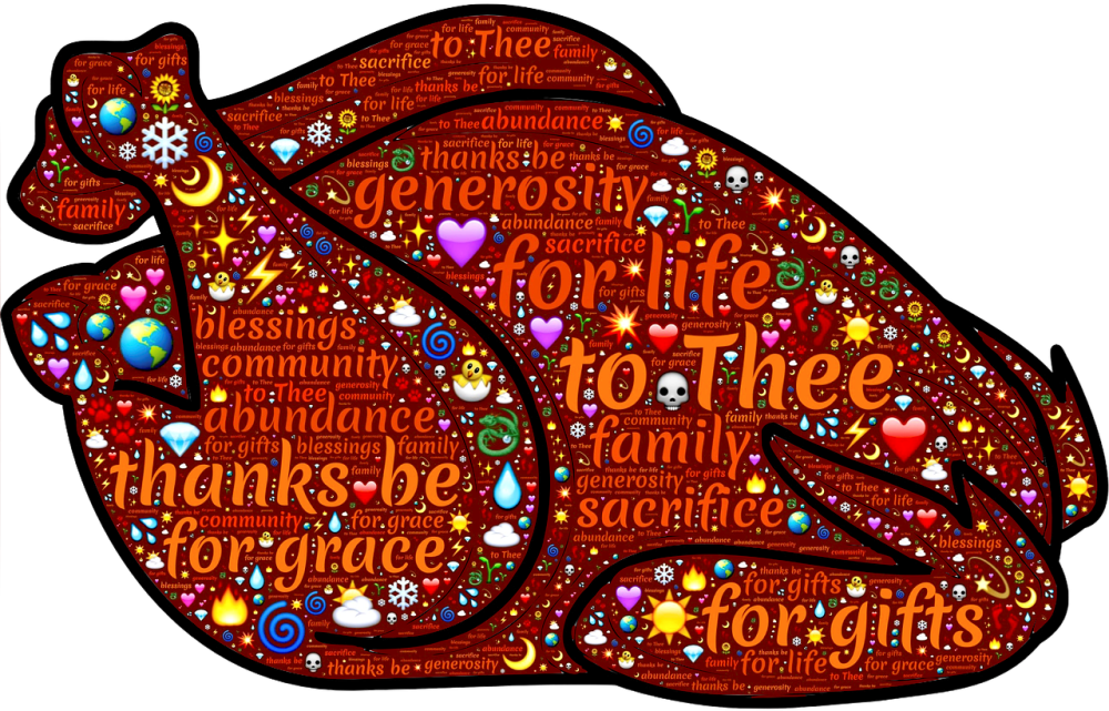 Public domain clipart thanksgiving banner transparent library Happy Thanksgiving to You and Yours! | Simple Catholic Living banner transparent library