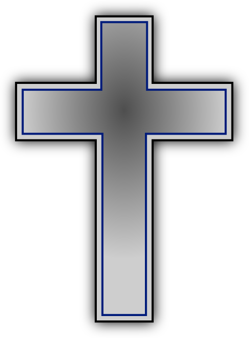 Public domain cross clipart graphic black and white Cross Ii Clipart | i2Clipart - Royalty Free Public Domain Clipart graphic black and white