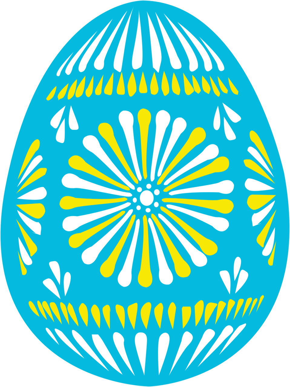 Public domain easter egg clipart picture transparent library Public Domain Clip Art Image | easter egg blue | ID ... picture transparent library