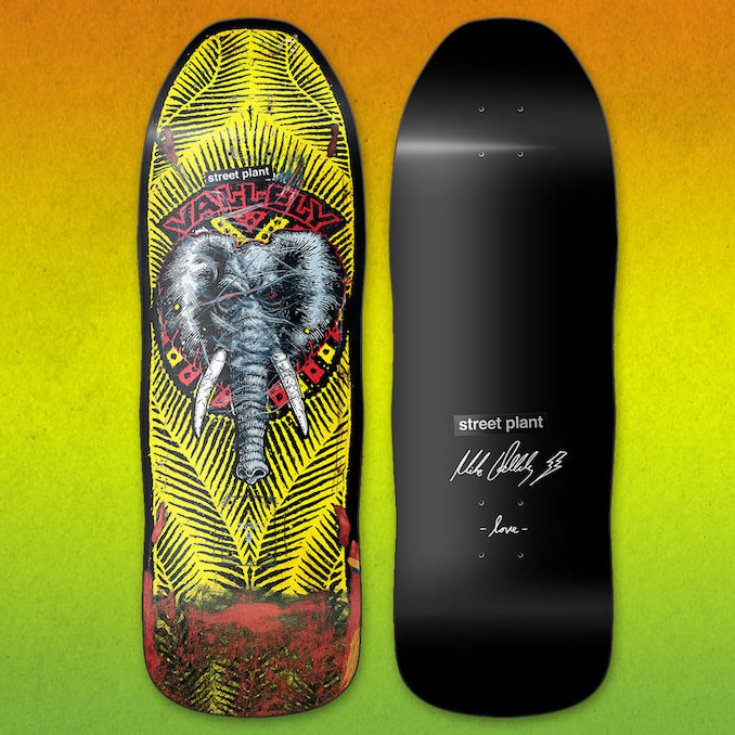 Public domain plant images jpg black and white library Street Plant Vallely Public Domain Skateboard Deck 10