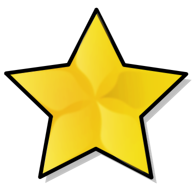 Public domain star clipart clipart free library Pin by Madlena Ignatova on Colour - Yellow in 2019 | Star ... clipart free library