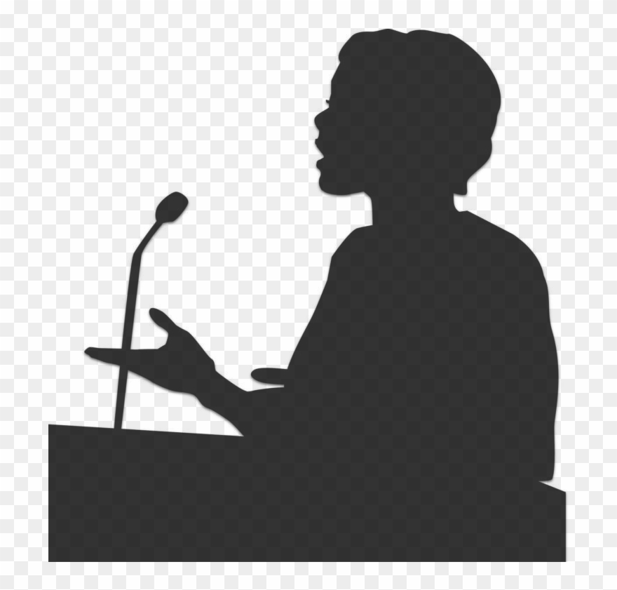 Public speaking clipart picture free stock Home - Public Speaking Png Transparent Clipart (#1424306 ... picture free stock