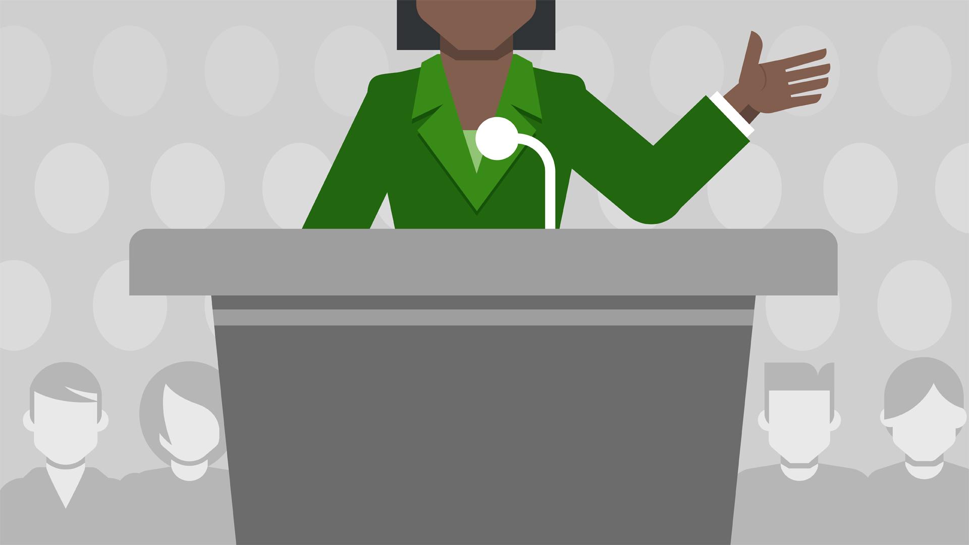 Public speaking clipart black and white Public Speaking Foundations black and white