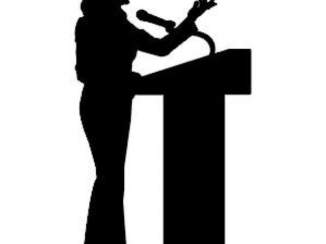 Public speaking clipart silhouette svg transparent Speakers clipart public speech - 125 transparent clip arts ... svg transparent