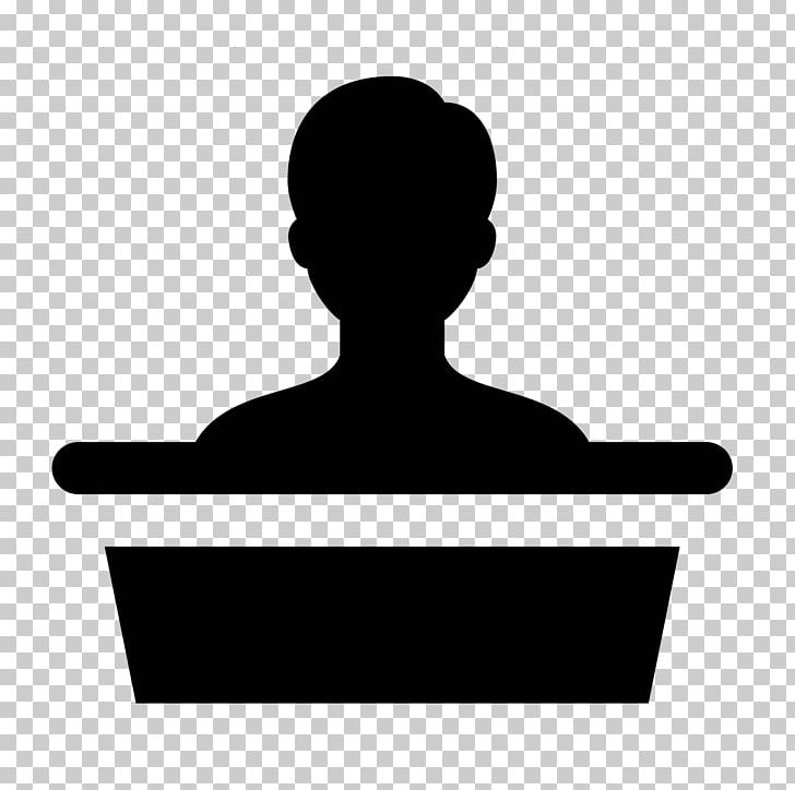 Public speaking clipart silhouette banner black and white download Podium Computer Icons Public Speaking Microphone PNG ... banner black and white download