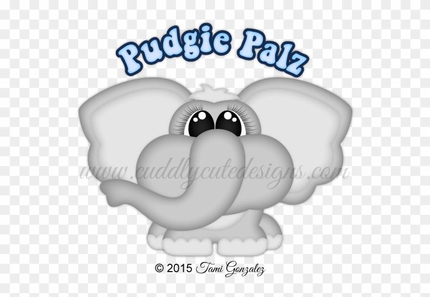 Pudgies clipart banner freeuse Pudgie Palz-elephant - Paper Clipart (#1900710) - PinClipart banner freeuse