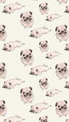 Pug tumblr clipart clipart royalty free cute pugs | Tumblr clipart royalty free
