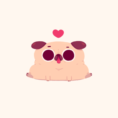Pug tumblr clipart clip art freeuse library puglie pug | Tumblr clip art freeuse library