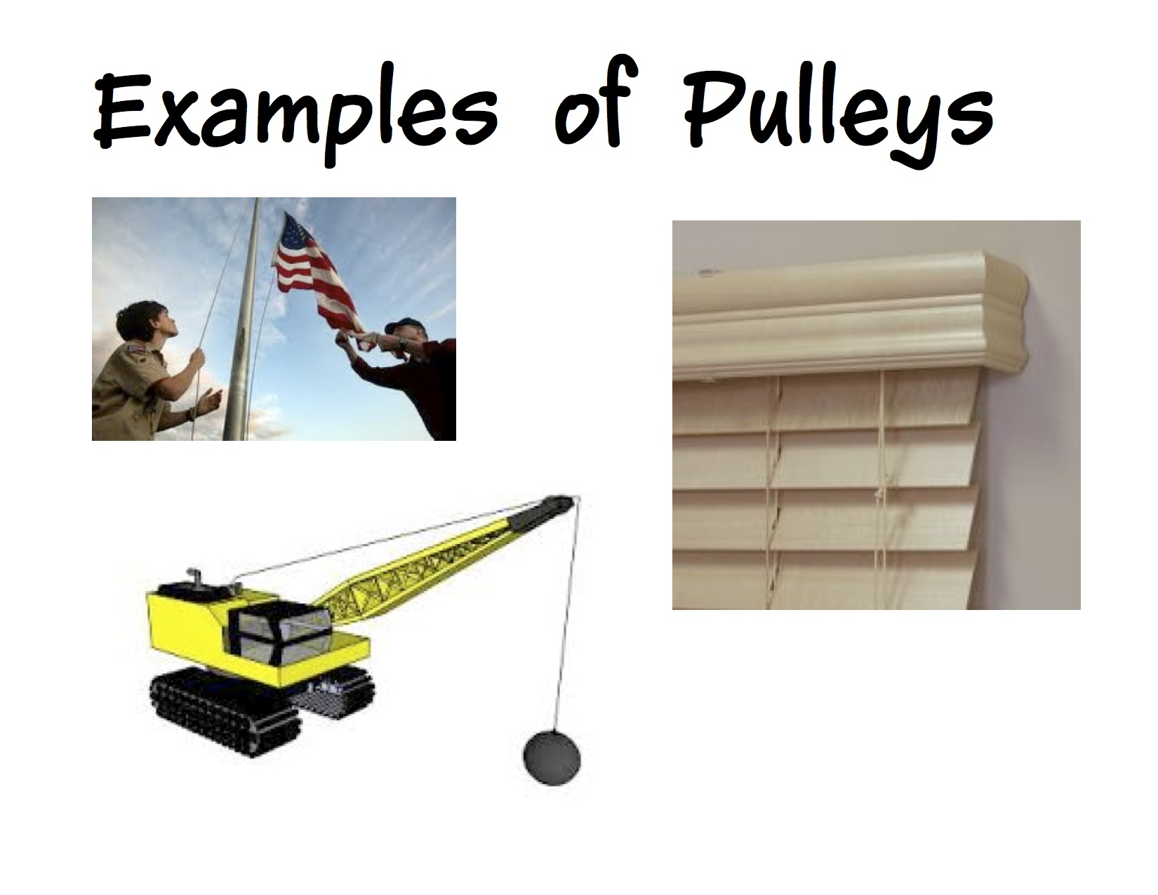 Pulley examples clipart library library Simple Machines | Kindergarten Nana clipart library library