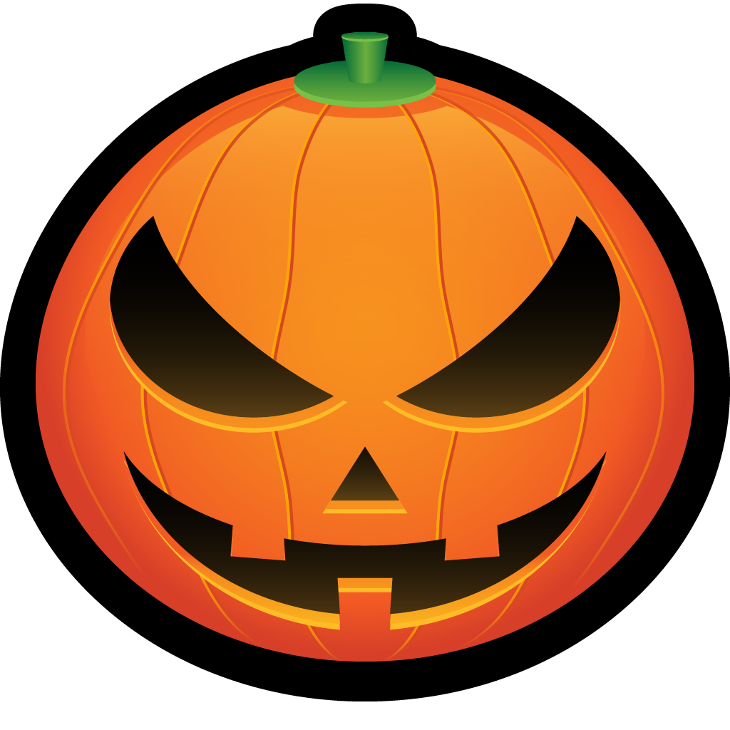 Scary clipart pumpkin banner freeuse library squash, spooky, scary, jack, halloween, pumpkin, jackolantern icon banner freeuse library